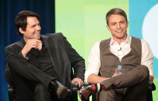 Kristoffer Polaha and Wilson Bethel