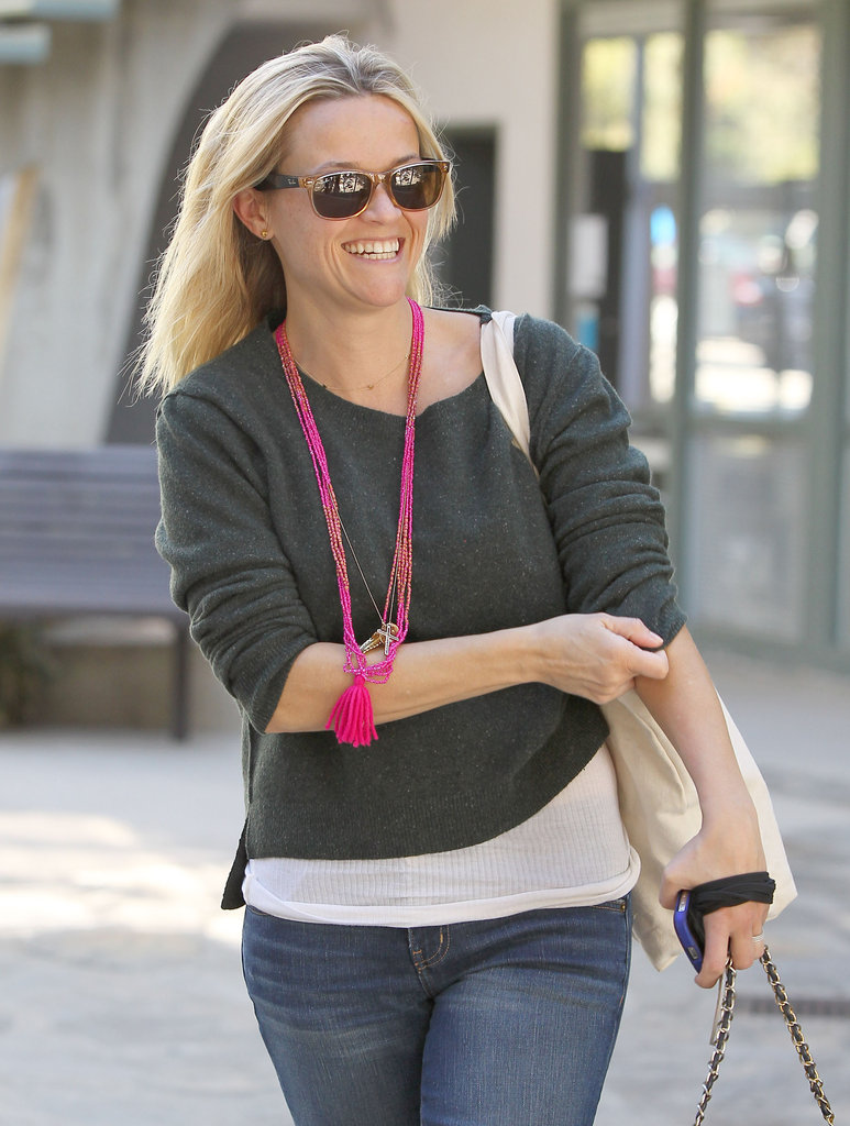 Reese Witherspoon was happy to be out in LA.
