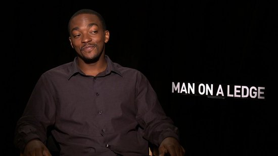 Video: Anthony Mackie Talks Arachnophobia, Ledges, and Who He Recently Punched