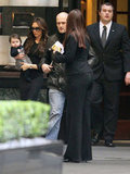 Victoria Beckham Ventures Out With Her Growing Baby Harper