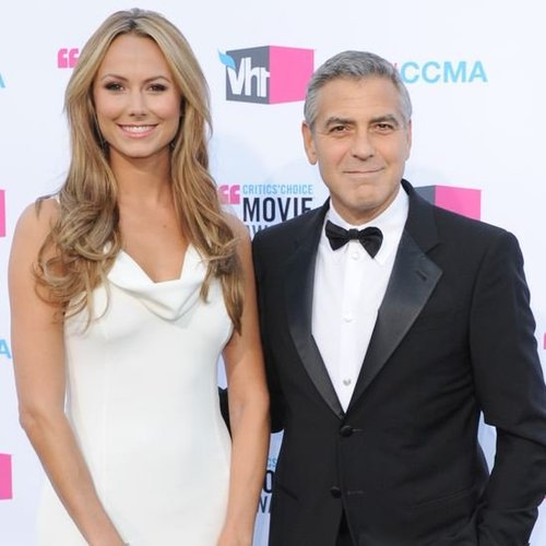 George Clooney, Stacy Keibler, Brad Pitt at Critics' Choice