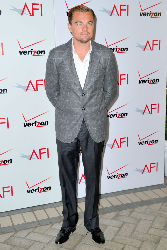 Leonardo DiCaprio at AFI Awards.