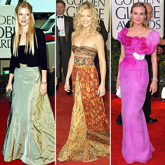 Look back on the 55 most unforgettable looks from Golden Globes past before tonight's star-studded red carpet!
