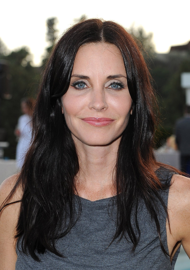"Courteney Cox was honest about her challenges in 2004: ""I get pregnant pretty easily, but I have a hard time keeping them."""