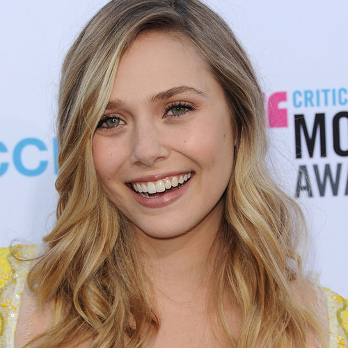 Elizabeth Olsen's Hair and Makeup Look at the 2012 Critics' Choice Awards