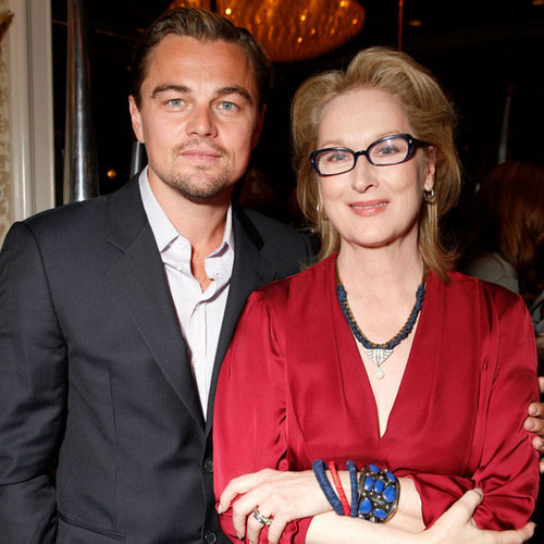 Leonardo DiCaprio, Michelle Williams at BAFTA Tea Pictures