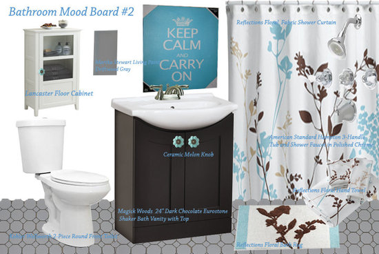 Our bathroom Mood Inspiration Board