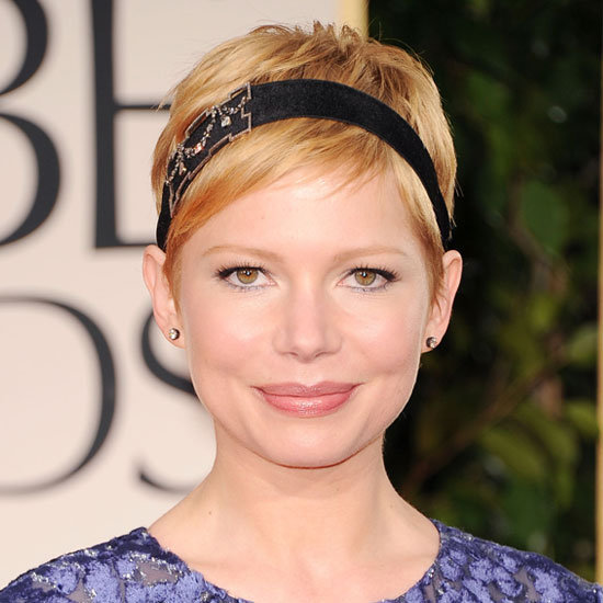 Michelle Williams's Delicate Eye Makeup