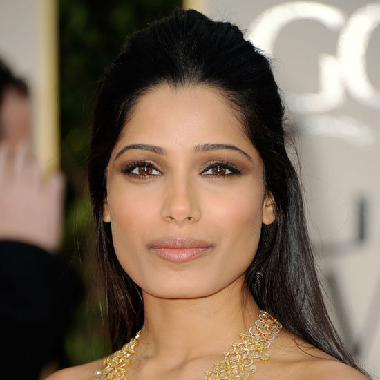 Freida Pinto&#039;s Smouldering, Smoky Eyes