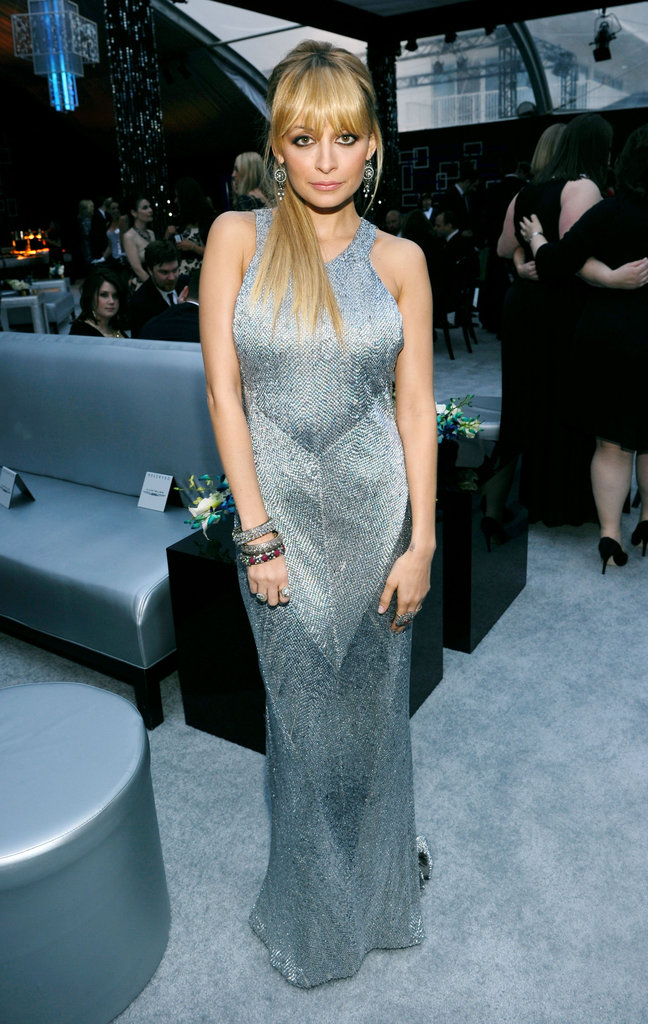 Nicole Richie wore Julien Macdonald.