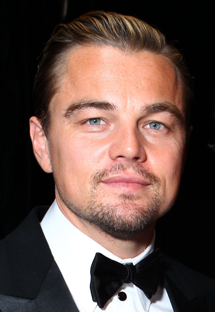 Leonardo DiCaprio stopped by the InStyle party.