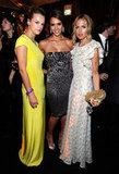 Kelly Patricof, Jessica Alba and Rachel Zoe at the Weinstein Company's Golden Globes after party.