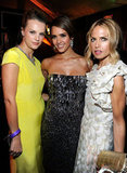 Kelly Patricof, Jessica Alba and Rachel Zoe partied after the Golden Globes.