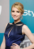 Emma Roberts at InStyle's Golden Globes afterparty.