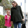 Pregnant Jennifer Garner Takes Violet to Ballet and Karate