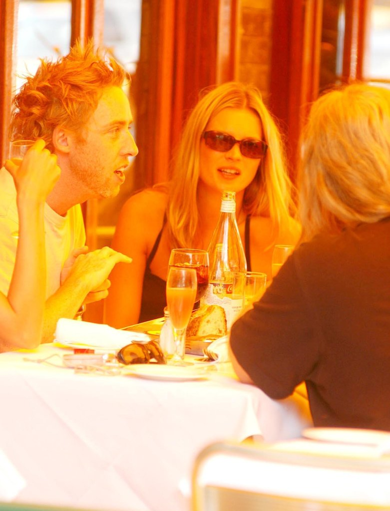 Kate had an alfresco lunch at NYC's Da Silvano in July 2003.