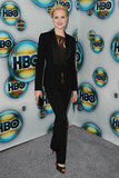 Evan Rachel Wood arrived at HBO's Golden Globes bash.