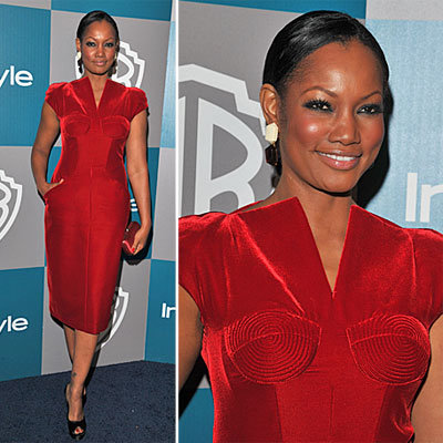 Garcelle Beauvais at Golden Globes Afterparty 2012