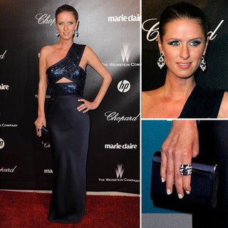 Nicky Hilton at Golden Globes Afterparty 2012