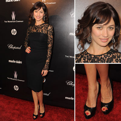 Olga Kurylenko at Golden Globes Afterparty 2012
