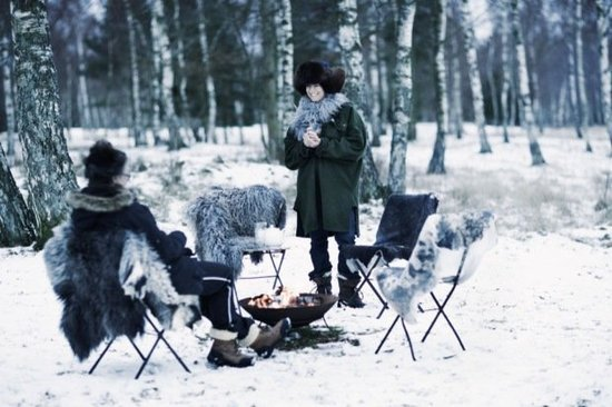 A Winter picnic.