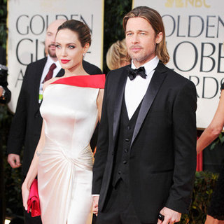 Celebrity Red Carpet Pictures at 2012 Golden Globes