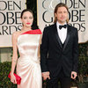 Brad Pitt and Angelina Jolie Pictures at 2012 Golden Globes
