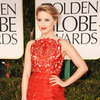 Glee Cast Pictures at 2012 Golden Globes: Lea Michele, Dianna Agron, Naya Rivera, Amber Riley and More