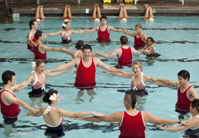 This synchronized swimming scene is going to be priceless.  Photo courtesy of Fox