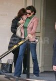 Penelope Cruz kept her sunglasses on for a day out in London.