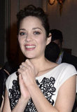 Marion Cotillard partied in Paris.