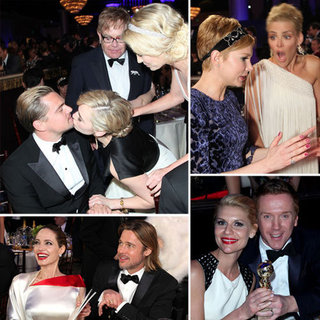 Golden Globes 2012 Pictures of Audience Candids