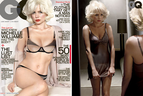 Michelle Williams Shows Skin, Talks Heath in the New GQ