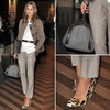 Olivia Palermo and Johannes Huebl at Men's Fashion Week