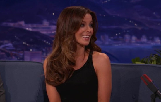 Kate Beckinsale Tells Conan She Loves Penis Jokes