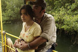 Paulina Gaitan and Daniel Zacapa in The River.