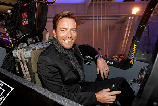 Ewan McGregor checked out the offerings at the SIHH High Jewelry Fair in Geneva.