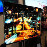 A 55-inch OLED TV