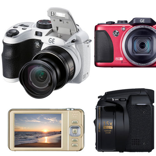 GE Digital Cameras Specs and Pictures