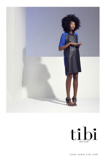 The Gorgeous Julia Sarr-Jamois Trades Street Style For Tibi Spring