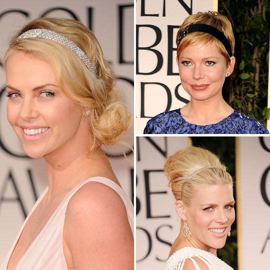 Trend Alert: Headbands à la Charlize, Michelle and Busy