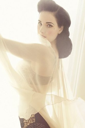 Dita Von Teese for Target Von Follies Lingerie Collection Spring 2012