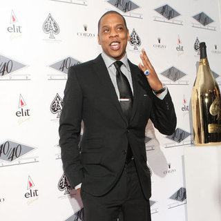 Jay-Z First Pictures at 40/40 Club After Blue Ivy's Birth