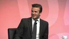 Video: David Beckham on Staying in America, Raising Harper and the Royal Wedding