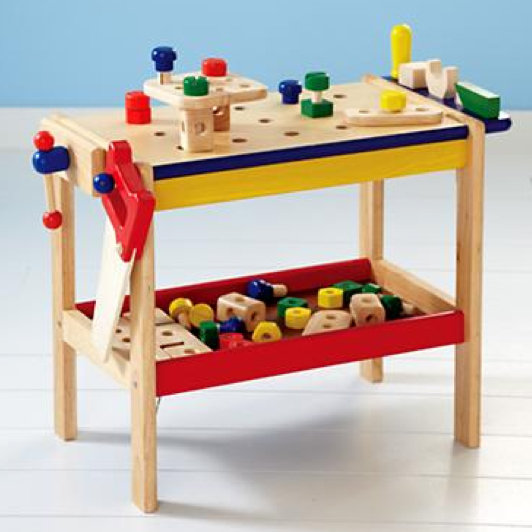 Land of Nod If I Had a Hammer (And a Workbench) ($99)