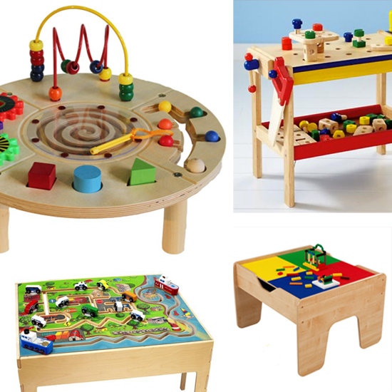 activity tables for kids play popsugar moms. Black Bedroom Furniture Sets. Home Design Ideas