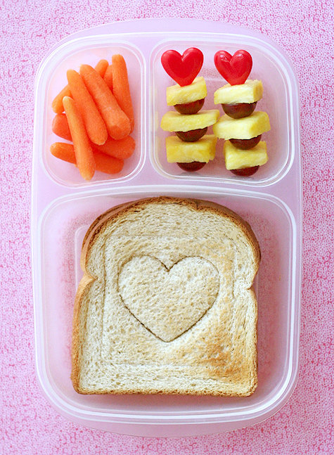 Be Mine: Valentine's Day Lunch Box Idea