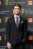 Daniel Radcliffe was on hand to announce the BAFTA nominations in London on Jan. 17.