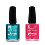 Face of Australia Barbados Nail Enamel Collection, $4.95 each