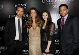 Theo James, Kate Beckinsale, India Eisley, and Michael Ealy hit the red carpet for Underworld: Awakening in LA.